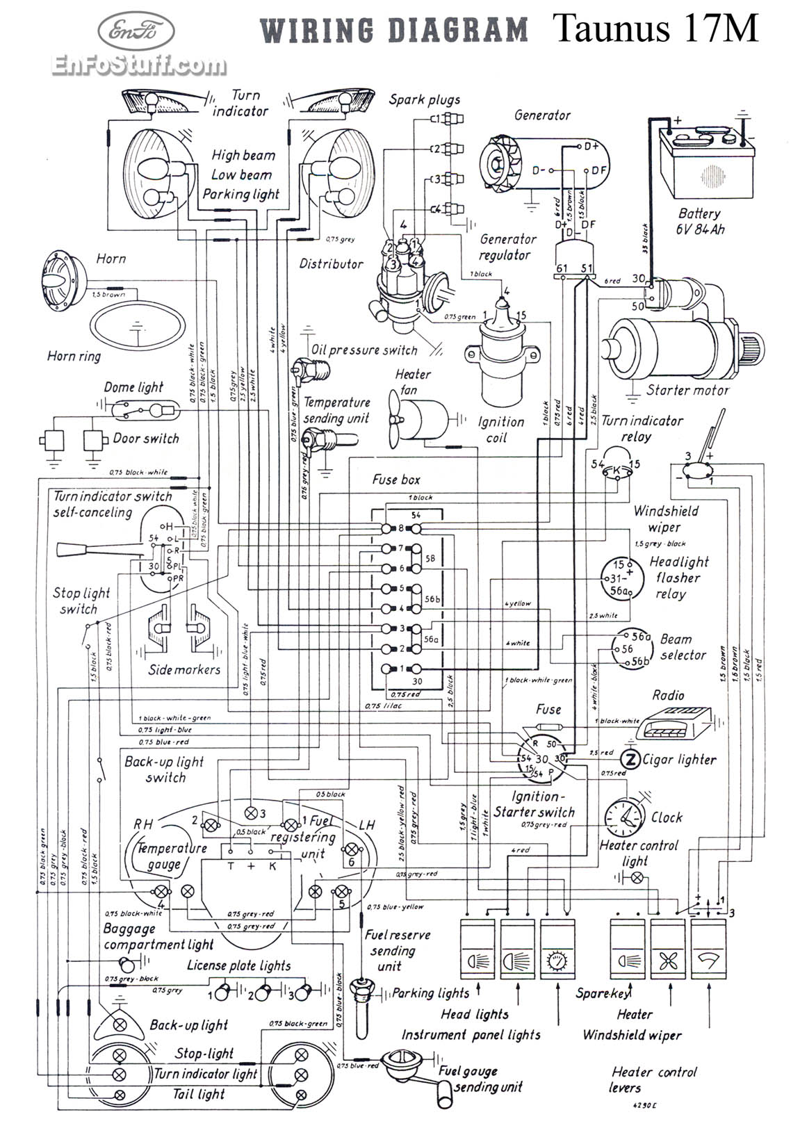 wiring diagram taunus 17m wiring diagrams (schematics) ford cortina wiring diagram at webbmarketing.co